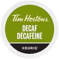 Dosettes K-Cup de café Tim Hortons, décaféiné, boîte de 24
