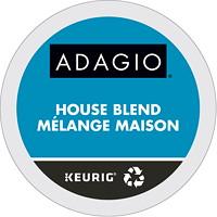 Dosettes K-Cup de café Adagio, mélange maison, boîte de 24