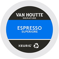 Dosettes K-Cup de café Van Houtte, Espresso Superiore, boîte de 24