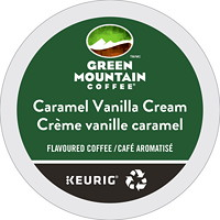 Green Mountain Coffee Single-Serve K-Cup Pods, Caramel Vanilla Cream, 24/BX