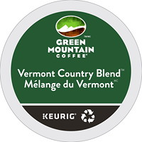 Green Mountain Coffee Single-Serve K-Cup Pods, Vermont Country Blend, 24/BX