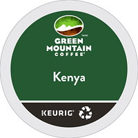 Green Mountain Coffee Single-Serve K-Cup Pods, Kenya, 24/BX