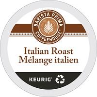 Dosettes K-Cup de café Barista Prima Coffeehouse, Mélange italien, torréfaction foncée, boîte de 24