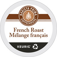 Barista Prima Coffeehouse Single-Serve Coffee K-Cup Pods, Medium Dark French Roast, 24/BX