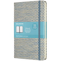 Moleskine Blend Notebook, Ruled, Blue, 5