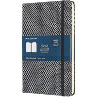 Moleskine Blend Notebook, Ruled, Black, 5