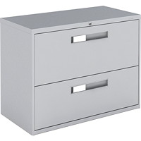 Global 9300 Series Lateral File, 2-Drawer, 36