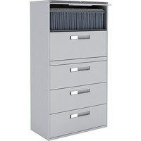 Global 9300 Series Lateral File, 5-Drawer, 36