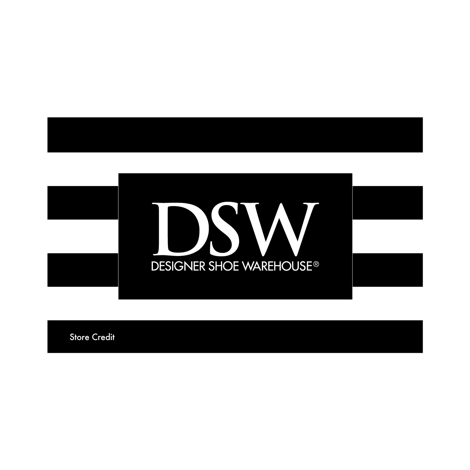 DSW Store Credit, 1 pk=20