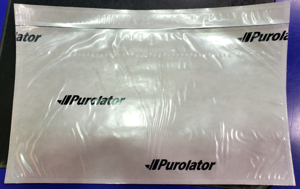 PUROLATOR   LABELOPES, 1PK = 1000 auto replenish by purolator EMERGENCY ORDERS ONLY