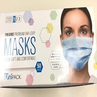 Mask -Level 1, 50 per box, MAX Order QTY-  DSW = 2, SCSW = 1