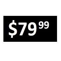 $79.99 -  Black PRICE POINT STICKERS - SHEET
