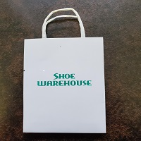 SW Gift Card Carrier Shopper, white& green, 1 pk = 20, FR