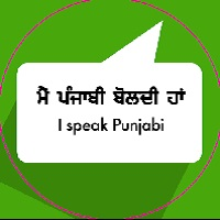 LANGUAGE BUTTONS- PUNJABI (Male)