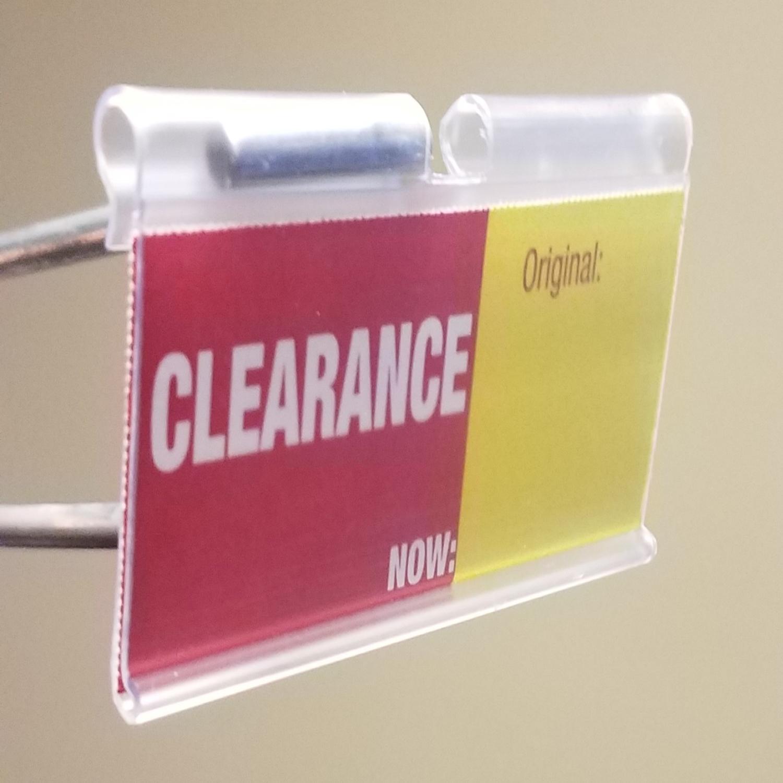 Whirl Scan Large Format Label Holder  - FR