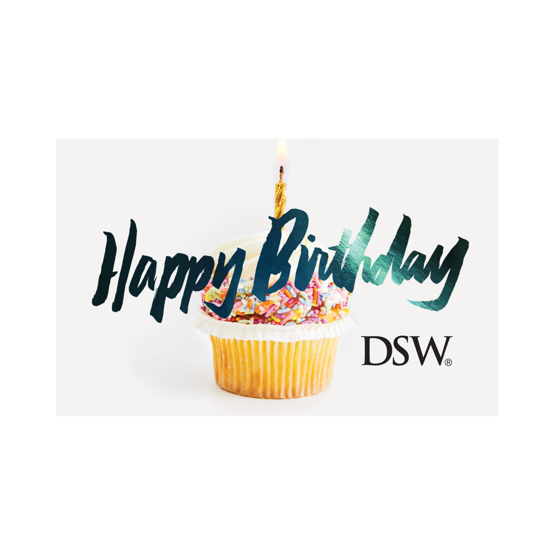 DSW Gift Card - Happy Birthday, 1 pk=20 - FR