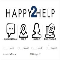 Happy 2 Help cards SCSW, 1 pk = 50