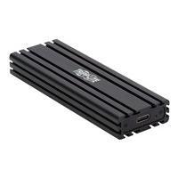 Tripp Lite USB-C to M.2 NVMe SSD (M-Key) Enclosure Adapter - USB 3.1 Gen 2 (10 Gbps), Thunderbolt 3, UASP - storage enclosure - M.2 NVMe Card - USB 3.1 (Gen 2)