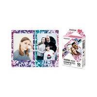 Fujifilm Instax Mini CONFETTI pellicule couleur à développement instantané - ISO 800 - 10