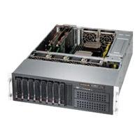 Supermicro SC835 BTQ-R1K28B - rack-mountable - 3U - enhanced extended ATX  RM