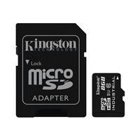 Kingston - carte mémoire flash - 8 Go - microSDHC UHS-I