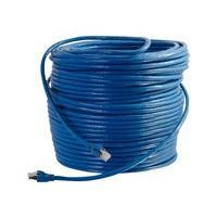 C2G 75ft Cat6 Ethernet Cable - Snagless Solid Shielded - Blue - cordon de raccordement - 22.86 m - bleu