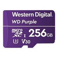 WD Purple WDD256G1P0A - carte mémoire flash - 256 Go - micro SDXC (Mondial)
