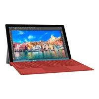 Microsoft Surface Pro 4 Type Cover - keyboard - with trackpad, accelerometer - QWERTY - English - red