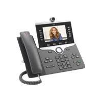 Cisco IP Phone 8865 - visiophone IP - avec appareil photo numérique, Interface Bluetooth (Amérique du Nord)