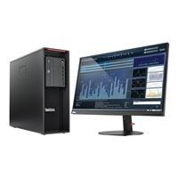 Lenovo ThinkStation P520 - tour - Xeon W-2123 3.6 GHz - 8 Go - HDD 1 To - Français canadien (Langue : français / région : Canada)