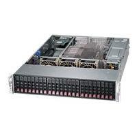 Supermicro SC216 BA-R1K28WB - rack-mountable - 2U - enhanced extended ATX KRM