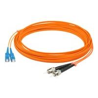 AddOn 4m SC to ST OM1 Orange Patch Cable - cordon de raccordement - 4 m - orange