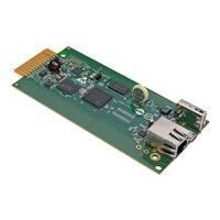Tripp Lite LX Platform SNMP/Web Interface Module - Remote Cooling Management for Select Models - remote management adapter