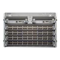 Arista 7504R Chassis - switch - managed - rack-mountable - with Supervisor module (DCS-7500-SUP2), 6x Fabric modules (DCS-7508R-FM)