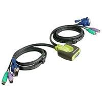 IOGEAR MiniView Micro KVM Switch GCS62 - commutateur KVM - 2 ports