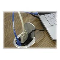 Black Box Easy-AV Drop Box Square Cover - flush mount outlet