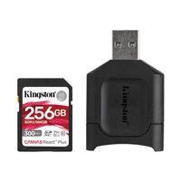 Kingston Canvas React Plus - carte mémoire flash - 256 Go - SDXC UHS-II