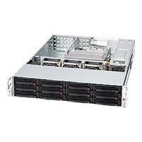 Supermicro SC826 A-R1200UB - rack-mountable - 2U - extended ATX  RM