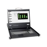 Tripp Lite 8-Port Rack Console Cat5 KVM Switch 1U RM 19