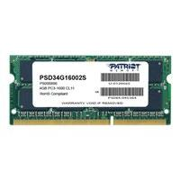 Patriot Signature Line - DDR3 - 4 Go - SO DIMM 204 broches - mémoire sans tampon