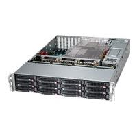 Supermicro SC826 BE2C-R920LPB - rack-mountable - 2U - enhanced extended ATX  RM