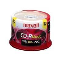 Maxell Music Gold - CD-R x 30 - 700 MB - storage media