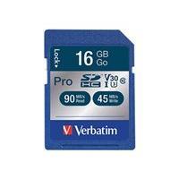 Verbatim PRO Series - flash memory card - 16 GB - SDHC UHS-I
