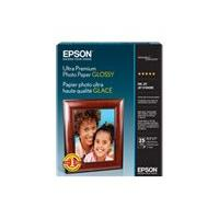 Epson Ultra Premium Glossy Photo Paper - photo paper - glossy - 20 sheet(s) - 127 x 177.8 mm