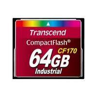 Transcend CF170 Industrial - flash memory card - 64 GB - CompactFlash