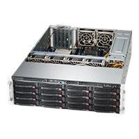 Supermicro SC836 BHA-R1K28B - rack-mountable - 3U - enhanced extended ATX  RM