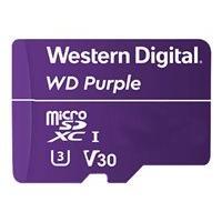 WD Purple WDD128G1P0A - flash memory card - 128 GB - microSDXC (Worldwide)