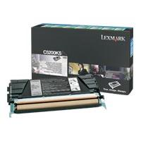 Lexmark - black - original - toner cartridge - LCCP, LRP