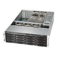 Supermicro SC836 BE26-R1K28B - rack-mountable - 3U - extended ATX WRM