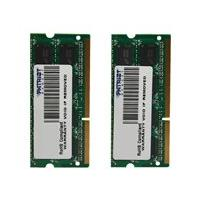 Patriot Signature Apple - DDR3 - 16 Go: 2 x 8 Go - SO DIMM 204 broches - mémoire sans tampon